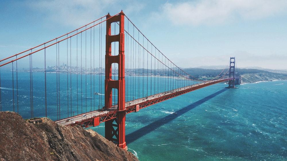 SF Bridge daytime